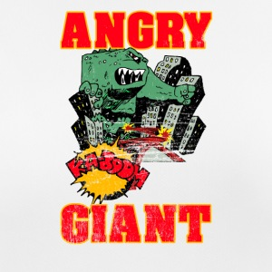 Vintage Angry Giant Cartoon Style - Frauen T-Shirt atmungsaktiv