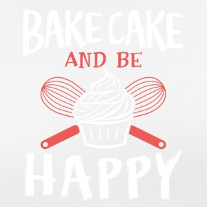 Bake cake and be happy - Women's Breathable T-Shirt
