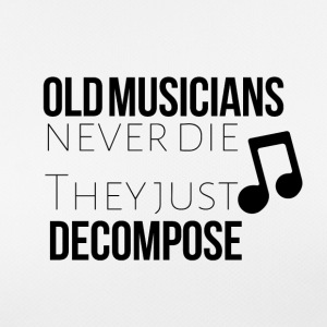 Old musicians never the they decompose - Women's Breathable T-Shirt