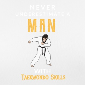 Never Underestimate a Man with a Teakwondo Skills! - Women's Breathable T-Shirt