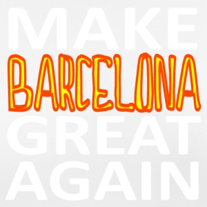MAKE BARCELONA GREAT IGEN - Dame T-shirt svedtransporterende