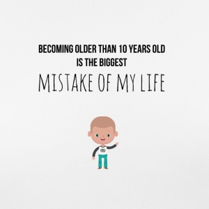 Becoming older is a mistake - Women's Breathable T-Shirt