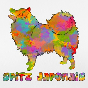 Japanese Spitz Multicolored - Women's Breathable T-Shirt