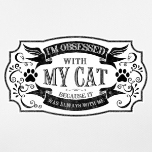 cat saying I m obsessed with my cat - Women's Breathable T-Shirt