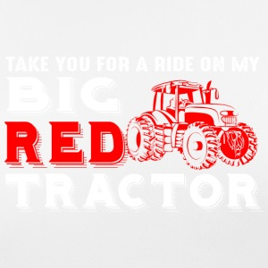 Farmer - my big red tractor - Frauen T-Shirt atmungsaktiv