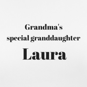 Grandma s special granddaughter Laura - Frauen T-Shirt atmungsaktiv
