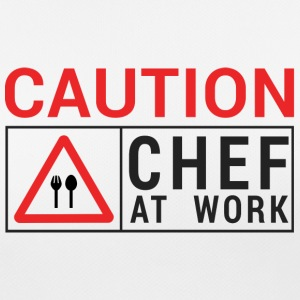 Chef / Chef Cook: Caution - Chef at work. - Women's Breathable T-Shirt