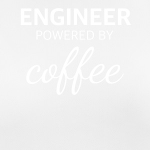 ENGINEER powered by COFFEE lustiges Ingenieur - Frauen T-Shirt atmungsaktiv