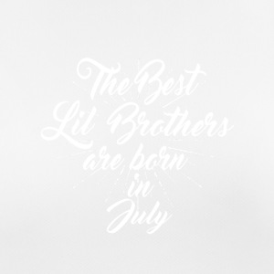 The best little brothers are born in July - Women's Breathable T-Shirt