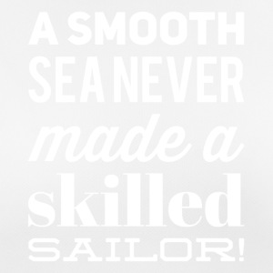 skilled sailor weiss - Frauen T-Shirt atmungsaktiv