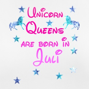 Unicornio Queens Nacido Jul - Camiseta mujer transpirable