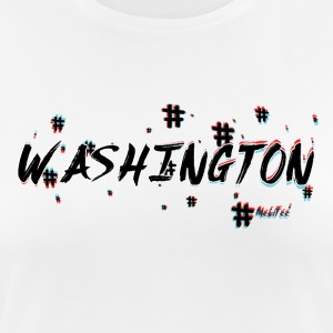 Washington # 3d - Andningsaktiv T-shirt dam