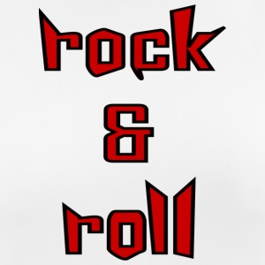 Rock and roll - vrouwen T-shirt ademend