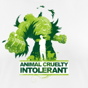 ANIMAL CRUELTY INTOLERANT - Women's Breathable T-Shirt