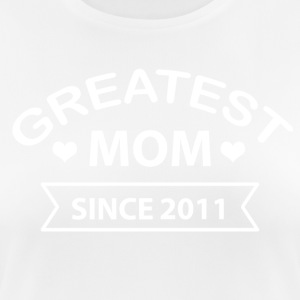 Greatest Mom since 2011 - Women's Breathable T-Shirt