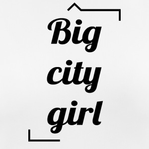 Big City Girl - T-shirt respirant Femme