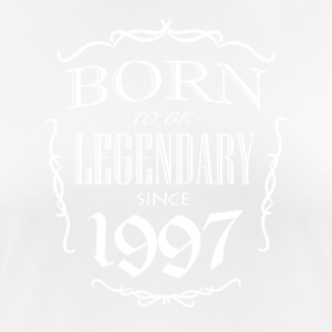 Born to be Legendary since 1997 - Women's Breathable T-Shirt
