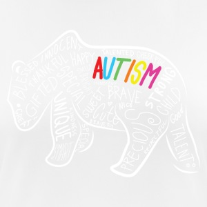 Papa Bear Autism Awareness Geburtstag Shirt - Frauen T-Shirt atmungsaktiv