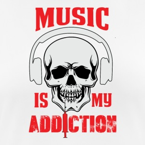 Music my Addiction - Frauen T-Shirt atmungsaktiv
