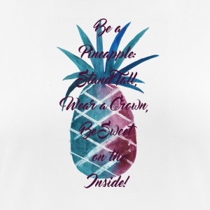 Be a Pineapple: Purpur - Frauen T-Shirt atmungsaktiv