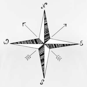 Compass Rose - Women's Breathable T-Shirt