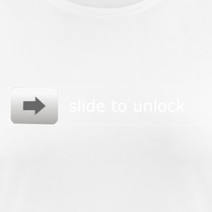 Slide to unlock - Women's Breathable T-Shirt
