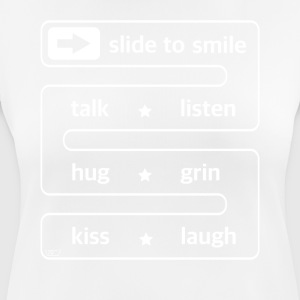 slide to smile... - Frauen T-Shirt atmungsaktiv