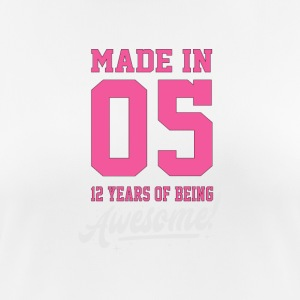 MADE IN 2005 - 12e anniversaire - T-shirt respirant Femme
