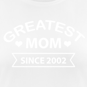 Greatest Mom since 2002 - Women's Breathable T-Shirt