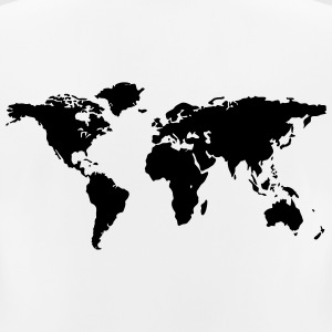 map of the world - Women's Breathable T-Shirt