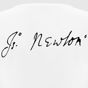 Isaac Newton signature - Women's Breathable T-Shirt