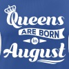 Queens are born in august birthday Crown casting - Women's Breathable T-Shirt
