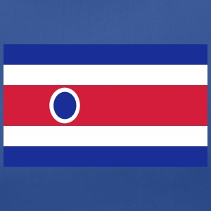 National Flag Of Costa Rica - Andningsaktiv T-shirt dam