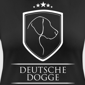 GERMAN DOGGE COAT OF ARMS - Women's Breathable T-Shirt