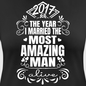 Wedding 2017 - Best Man - Maglietta da donna traspirante
