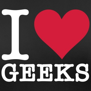 I Love Geeks - Women's Breathable T-Shirt