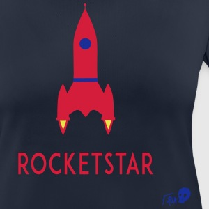 ROCKET STAR - Women's Breathable T-Shirt
