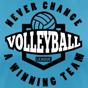 volleyball team never change a winning team - vrouwen T-shirt ademend