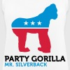 Political Party Animals: Gorilla - Women's Breathable Tank Top