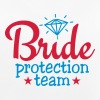 bride protection team 2c / bride security  - Top da donna traspirante