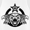 Eagle lion logo head roar royal - Men's Breathable Tank Top