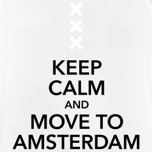 keep calm move to Amsterdam Holland Andreaskreuz - Männer Tank Top atmungsaktiv