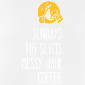 Sundays: Oversized Shirts.Messy Hair. Coffee. - Men's Breathable Tank Top