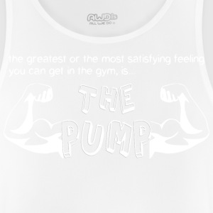 The Pump Big Arms White - Men's Breathable Tank Top