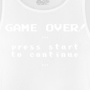 Retro 'Game over!' - Men's Breathable Tank Top