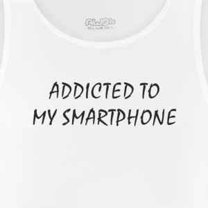 Addicted to my smartphone - Men's Breathable Tank Top