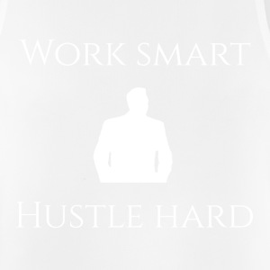 WORK SMART HUSTLE HARD - Männer Tank Top atmungsaktiv