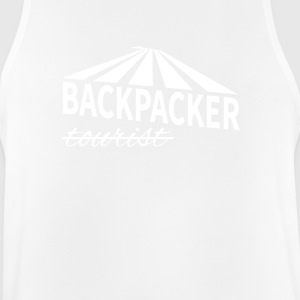 Backpacker - not tourist - Men's Breathable Tank Top