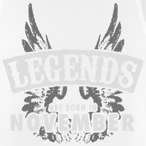 Legends are born in November Wings - Men's Breathable Tank Top