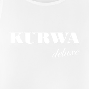 Kurwa Deluxe - White Polish swear word - Men's Breathable Tank Top